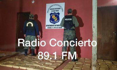 Incautan 358 kilos de marihuana en Franco