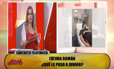 Dahiana y Fátima hablaron sobre la salud de Junior Rodríguez