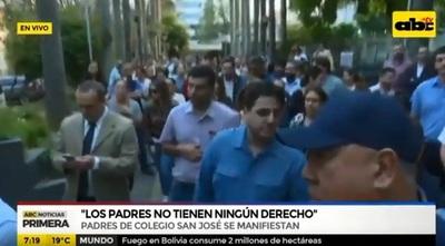El San José será intervenido por el MEC por amenaza de balacera