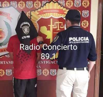 Atrapan a supuesto implicado en robo a distribuidora en Franco