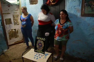 Madre e hijas proveían crack a niños en zona de Trinidad