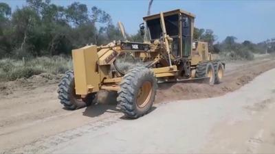 Boquerón: Rehabilitación de caminos vecinales beneficiará a 65.000 personas
