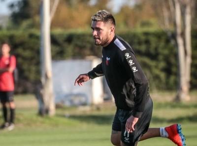 Jorge Ortega, primeros minutos, gol y lesión