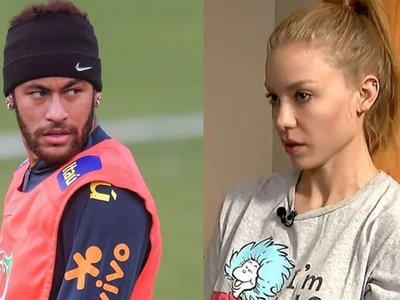 """Modelo dice que Neymar publicó fotos íntimas para """"vengarse"""" y """"humillarla"""""""