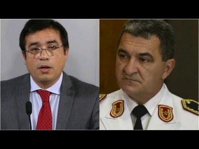 Abdo acepta renuncia del ministro de Justicia y remueve al comandante de la Policía