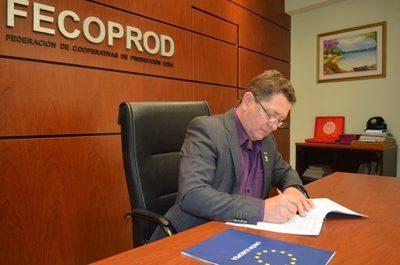 Fecoprod firma alianza con la Unión Europea