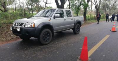 HOY / Hallan camioneta que habrían usado para rescatar a Samura: fue abandonada en Capiatá