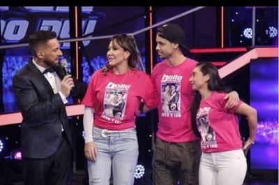 Ruth Alcaraz se eliminó del Baila Conmigo Paraguay