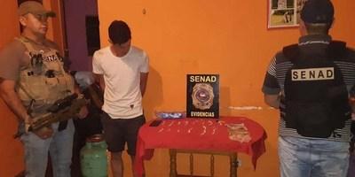 HALLAN FOCO DE MICROTRÁFICO DE COCAÍNA EN ARROYO PORA