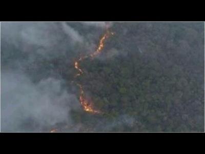 Chaco: aumentan afecciones respiratorias y oculares por incendios