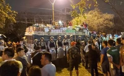Confirman contrabando en tres camiones retenidos por paseros