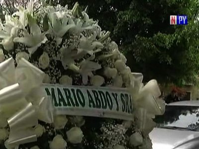 Familia de comisario abatido rechaza flores de Mario Abdo y de Villamayor