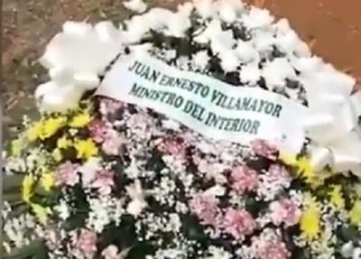 Familiares de comisario rechazan coronas de Abdo Benítez y Villamayor