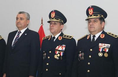 Asumen nuevo comandante y subcomandante de la Policía Nacional