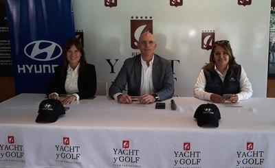 Se viene la gala del golf en el Yacht