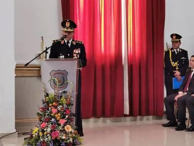 Francisco Resquín asumió como nuevo comandante de la Policía