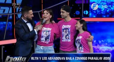 "Ruth Alcaráz quedó fuera de ""Baila Conmigo Paraguay"""