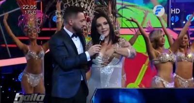 """Zuni Castiñeira reapareció en """"Baila Conmigo Paraguay"""""""