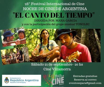 """Embajada de Argentina invita a la proyección """"El canto del Tiempo"""""""