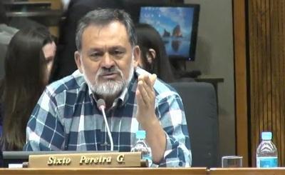 Sixto Pereira sostiene que hay motivos suficientes para interpelar a Villamayor