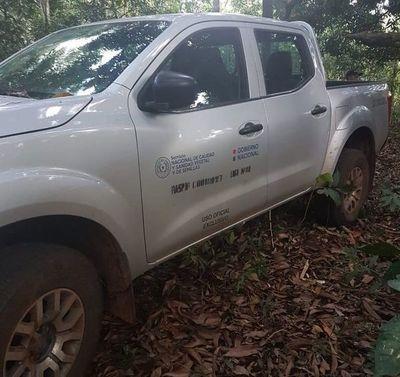 Hallan otro vehículo sospechoso en la zona de Itá