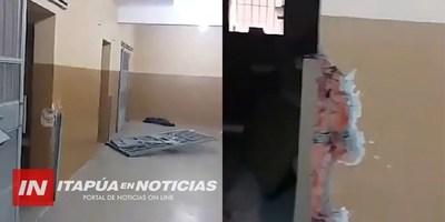 """JUSTICIA REPARARÁ PABELLÓN DE """"ALTA SEGURIDAD"""" DESTRUIDO POR EL PCC"""