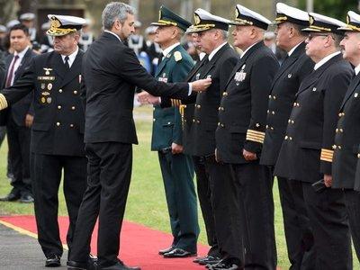 Mario Abdo insiste con enmienda para militarizar lucha contra crimen