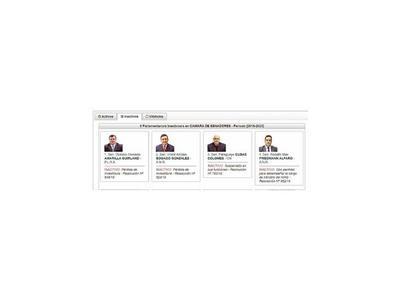 Llano hizo corregir error en la página web del Congreso