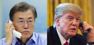 Trump y Moon se reunirán cuando coincidan en la Asamblea General de la ONU