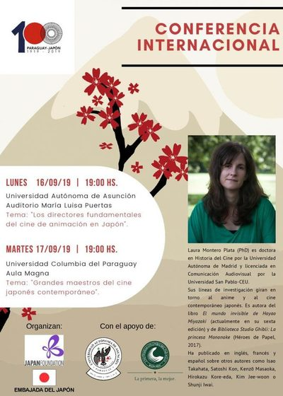 Conferencia sobre Animé y cine japonés ofrece Embajada