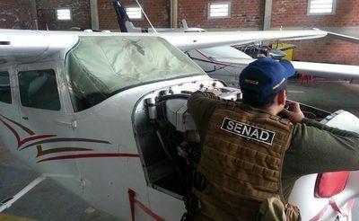 Avionetas incautadas de Samura se utilizarán para combatir incendios forestales como los del Chaco