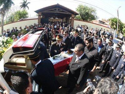 Dan el último adiós a Félix Ferrari, el policía asesinado en fuga de Samura