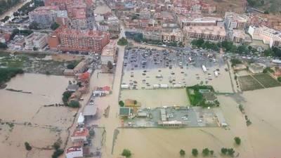 Fuertes lluvias e inundaciones dejan saldo fatal en el Sur de España