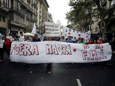 FMI no  hará  desembolso hasta que haya nuevo presidente en Argentina