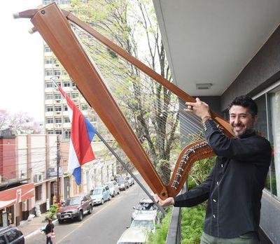 """""""El arpa paraguaya es un referente mundial"""""""