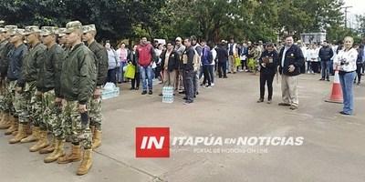 INICIO DE LA CAMPAÑA DE PREVENCIÓN DE DENGUE EN ITAPÚA