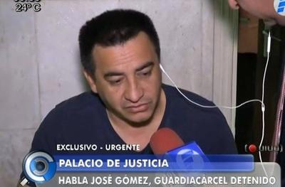 Juez envía a prisión a guardiacárceles