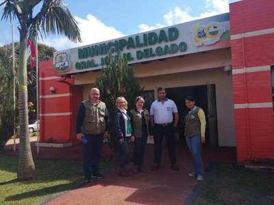 GRAL. DELGADO: IMPORTANTES TRABAJOS DE RELEVAMIENTO DE DATOS EN EL CASCO URBANO