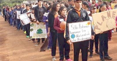 Fiesta sin celular para los estudiantes del Sur