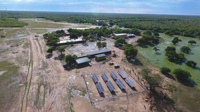 Plantas solares en el Chaco ahorran hastaG. 1.000 millones