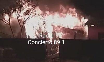 Niño muere en voraz incendio en Santa Rita