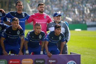 Maradona debutó con una derrota