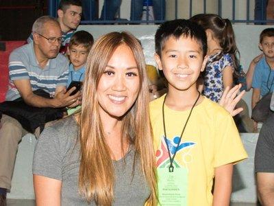 El hijo de Yolanda es  campeón en matemáticas