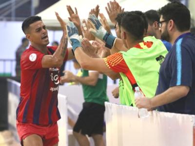 Cerro Porteño avanza firme en la Libertadores de fútbol playa