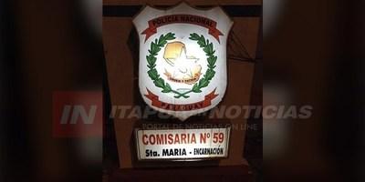 ROBO DOMICILIARIO EN EL BARRIO STA. MARIA DE ENCARNACIÓN