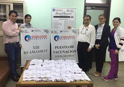 Inicia vacunación contra sarampión, rubéola y fiebre amarilla en zonas fronterizas
