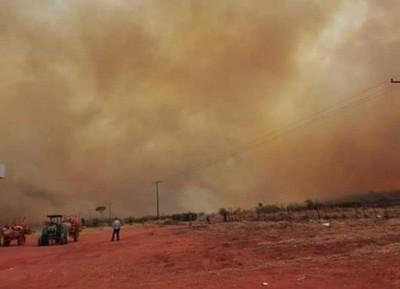 Activan alerta ante riesgos a la salud por incendios forestales