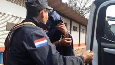 Guardia cárcel fue detenido esta mañana con medio kilo de cocaína