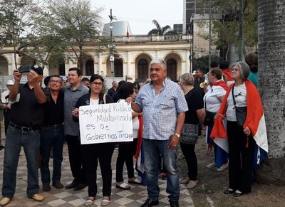 Rechazan cambios planteados por Villamayor en Ley Orgánica de la Policía Nacional