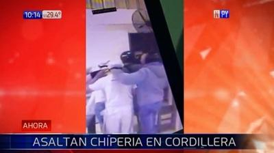 Asalto con toma de rehenes en chipería de Caacupé